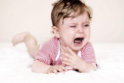 Некомфортное сосотяние для организма ребенка