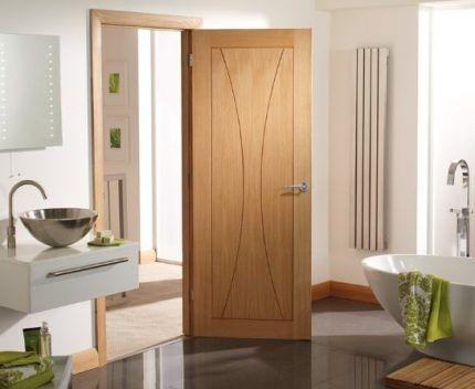Герметичная дверь в санузле
