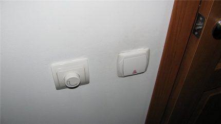 Диммер на вентилятор