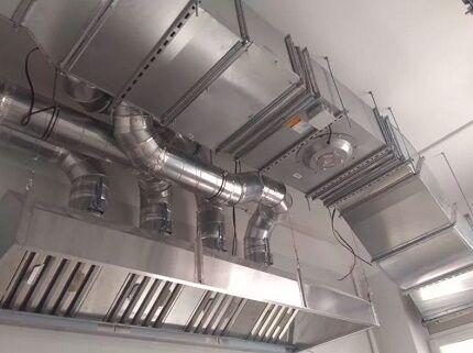 Соединение металлических воздуховодов