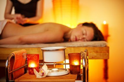 Кабинет массажа с ароматами