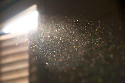 Пыль в замкнутом помещении