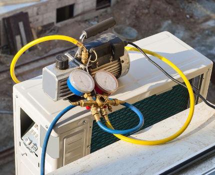 Вакуумные насосы для кондиционеров и холодильной техники от 4900 руб.