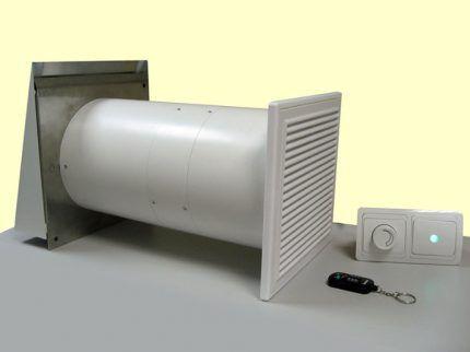 Вентилятор для стенового клапана