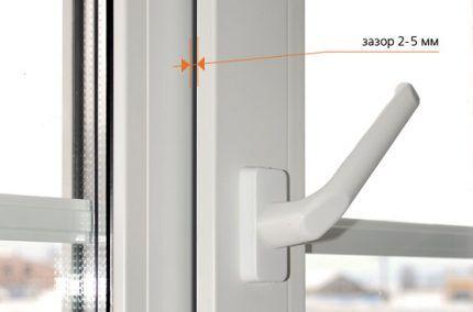 Функция микропроветривания в ПВХ окне