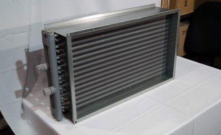 Теплообменник для вентиляционного калорифера
