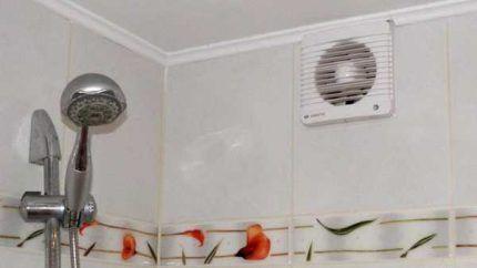 Вентилятор над ванной