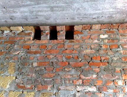 Стеновые продухи для проветривания чердака