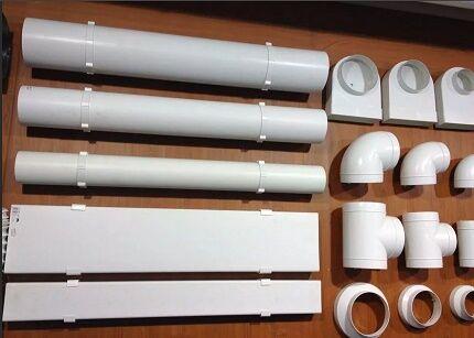 Детали для сборки канальной вентиляции