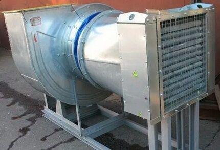 Вентиляционная установка с калорифером