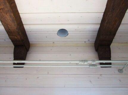 Вытяжная отдушина в потолке