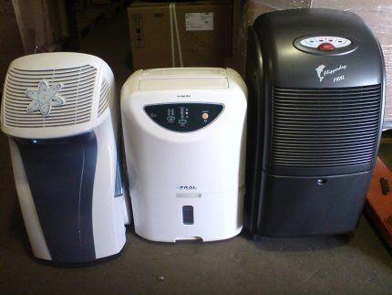 Комнатные осушители воздуха