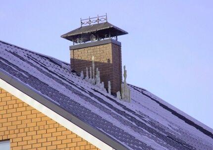 Вентиляционная шахта частного дома