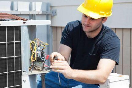 Монтаж заземления вентиляционной системы