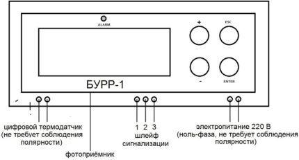 Схема электроподключения блока ротации кондиционеров