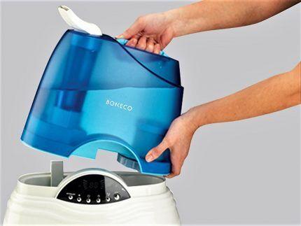 Резервуар для воды увлажнителя воздуха