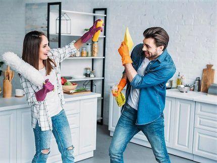 Домашняя уборка как залог чистоты