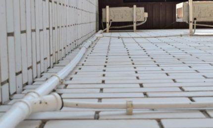 Дренаж кондиционера в канализацию