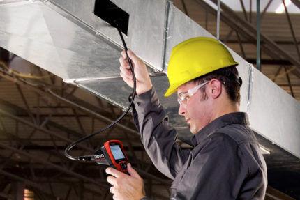 Проверка вентиляционного оборудования