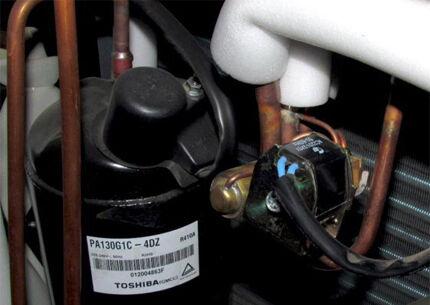 Электромагнитный клапан в схеме наружного модуля сплит системы