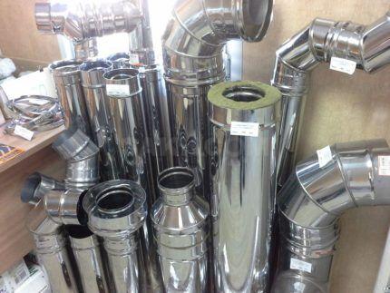Трубы различных диаметров