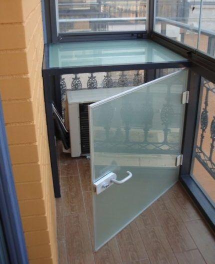 Короб из органического стекла