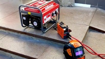 Подключение сварочного аппарата к генератору