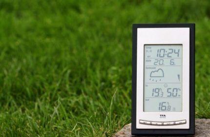 Многофункциональный электронный гигрометр