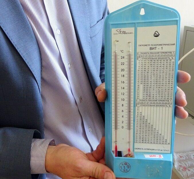Онлайн калькулятор: Абсолютная влажность воздуха и относительная влажность воздуха