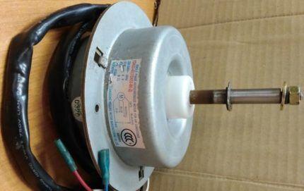 Двигатель вентилятора