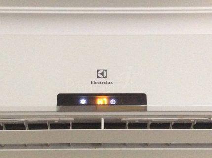 Непонятный код ошибки кондиционера Электролюкс