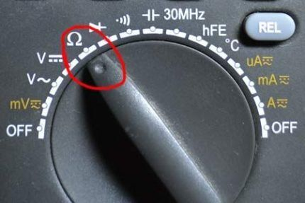 Измерение сопротивления температурных датчиков кондиционера