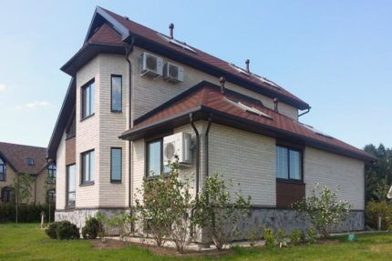 Частный дом с кондиционером