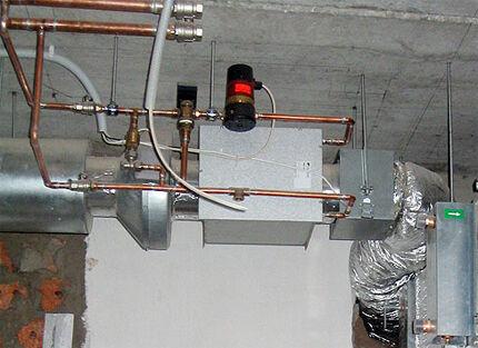 Приточная вентиляция с водяным нагревом