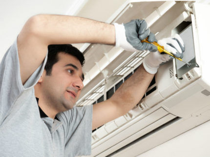 Проверка и ремонт кондиционера