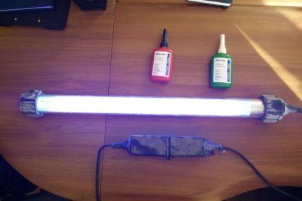 УФ-лампа для обработки воздуха