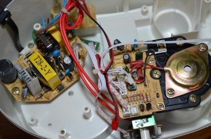 Электроника ультразвукового увлажнителя