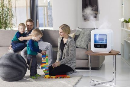 Увлажнитель воздуха для большой семьи