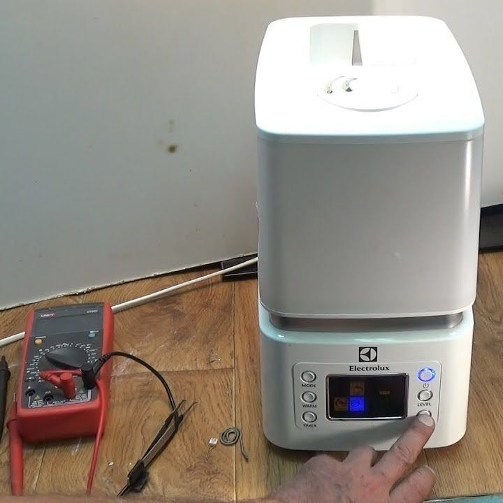 Ремонт увлажнителя воздуха: типовые поломки и действенные способы их устранения || Неприятный запах из увлажнителя воздуха