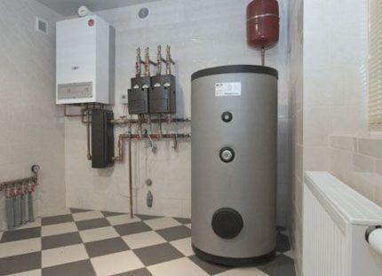 Вентиляция газовой котельной
