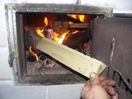 Плохо горят дрова