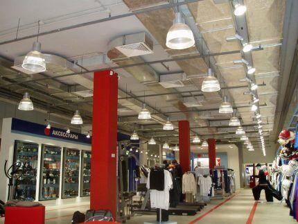 Вентиляция торгового центра