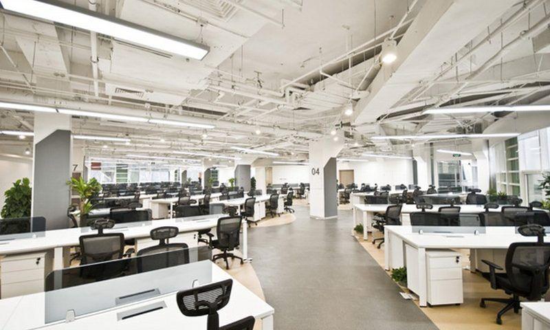 Монтаж вентиляции в офисе