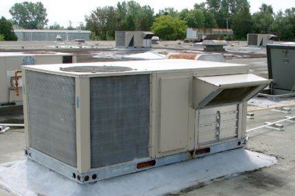 Центральный кондиционер на крыше