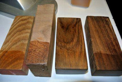 Деревянные бруски для подпорок