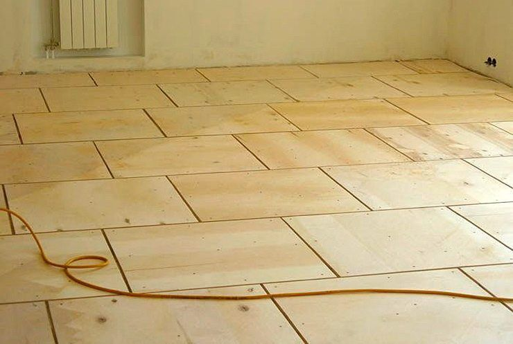 Фанера на пол — какая нужна толщина на деревянный пол