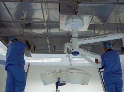 Чистка вентиляционной системы