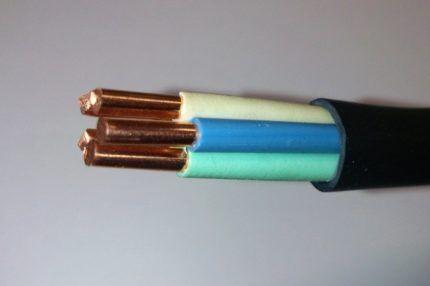 Медный кабель ВВГ