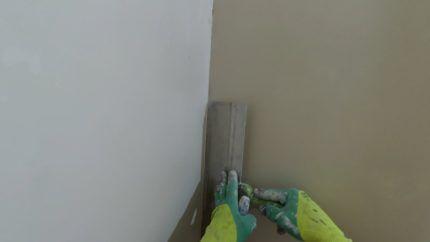 Выравнивание стены в ванной