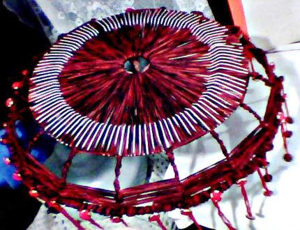 Абажур из сетки для вентилятора